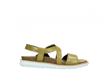 wolky sandalen 08480 sunstone 30920 light yellow leather_13