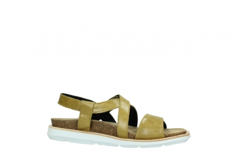 wolky sandalen 08480 sunstone 30920 light yellow leather_14