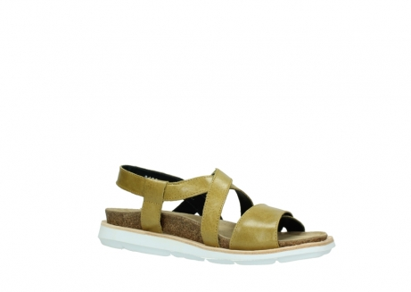 wolky sandalen 08480 sunstone 30920 light yellow leather_15