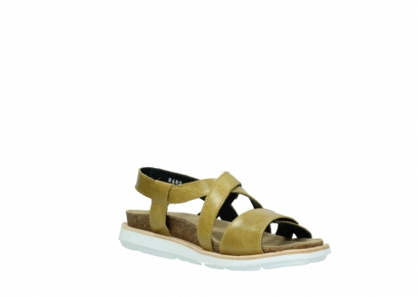 wolky sandalen 08480 sunstone 30920 light yellow leather_16