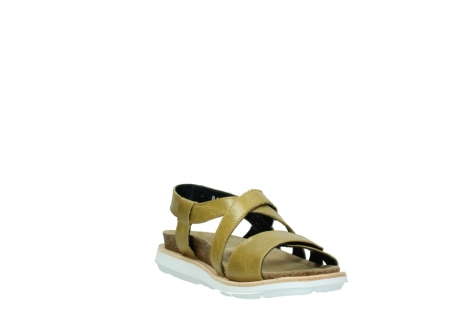 wolky sandalen 08480 sunstone 30920 light yellow leather_17