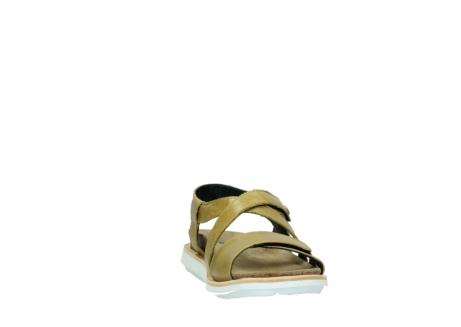 wolky sandalen 08480 sunstone 30920 light yellow leather_18