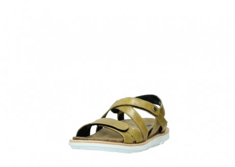wolky sandalen 08480 sunstone 30920 light yellow leather_21