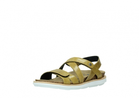 wolky sandalen 08480 sunstone 30920 light yellow leather_22