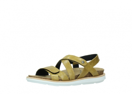 wolky sandalen 08480 sunstone 30920 light yellow leather_23