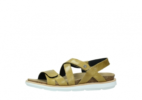 wolky sandalen 08480 sunstone 30920 light yellow leather_24