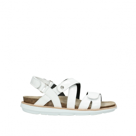 309242a50764 Wolky Schuhe 08480 Sunstone in weiss Lackleder bequem online ...