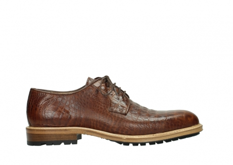 wolky chaussures a lacets 09403 turin 90430 cuir croco cognac_1