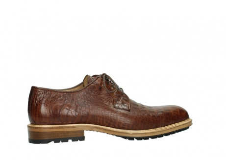wolky lace up shoes 09403 turin 90430 cognac croco leather_2