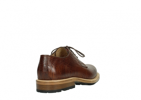 wolky lace up shoes 09403 turin 90430 cognac croco leather_5