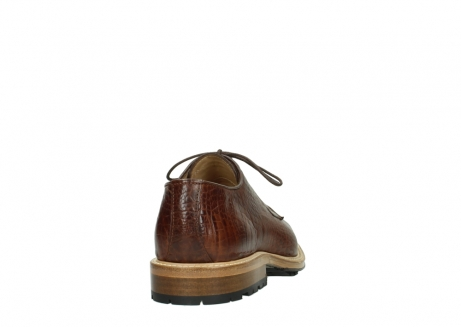 wolky chaussures a lacets 09403 turin 90430 cuir croco cognac_6
