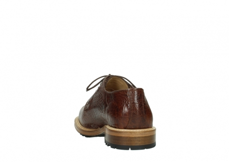 wolky chaussures a lacets 09403 turin 90430 cuir croco cognac_8