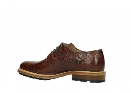 wolky lace up shoes 09403 turin 90430 cognac croco leather_11