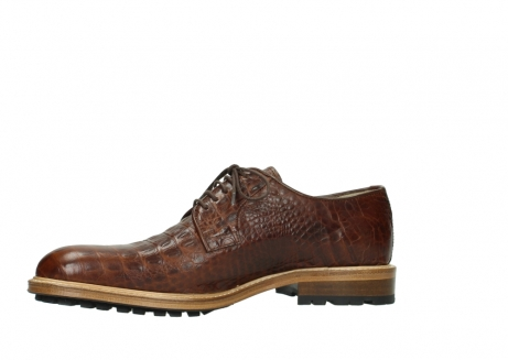 wolky chaussures a lacets 09403 turin 90430 cuir croco cognac_14