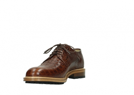wolky lace up shoes 09403 turin 90430 cognac croco leather_17