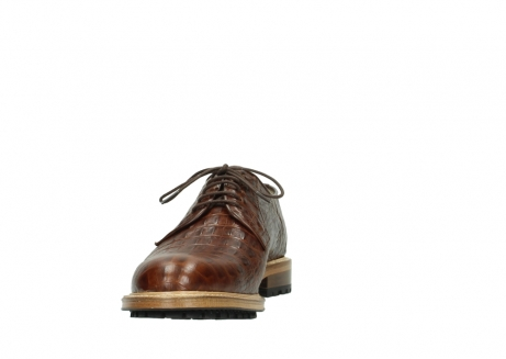 wolky lace up shoes 09403 turin 90430 cognac croco leather_18