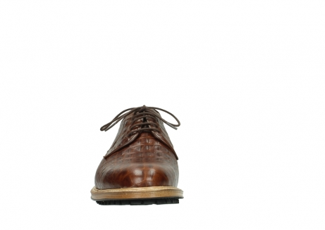 wolky lace up shoes 09403 turin 90430 cognac croco leather_19