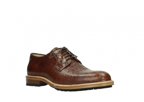 wolky lace up shoes 09403 turin 90430 cognac croco leather_22