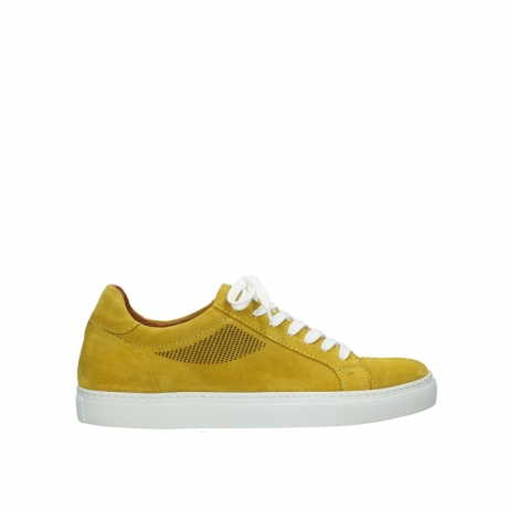 wolky lace up shoes 09480 francesco 40900 yellow suede