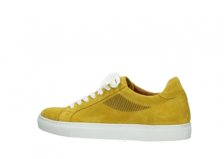 wolky lace up shoes 09480 francesco 40900 yellow suede_2