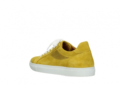 wolky lace up shoes 09480 francesco 40900 yellow suede_4