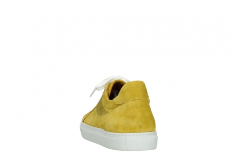 wolky lace up shoes 09480 francesco 40900 yellow suede_6