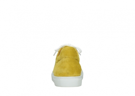 wolky lace up shoes 09480 francesco 40900 yellow suede_7