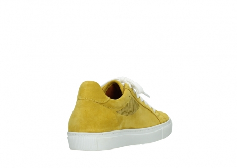wolky lace up shoes 09480 francesco 40900 yellow suede_9