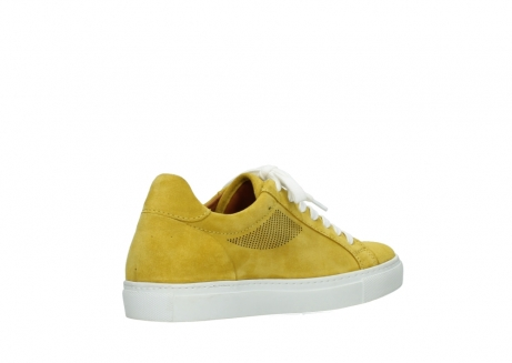 wolky lace up shoes 09480 francesco 40900 yellow suede_10