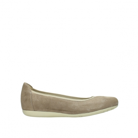 wolky ballerinas 00110 tampa 20150 taupe leder