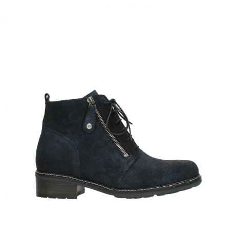 wolky 0447648800 blauw suede