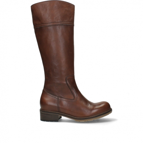 wolky hohe stiefel 04477 moher 32430 cognac leder