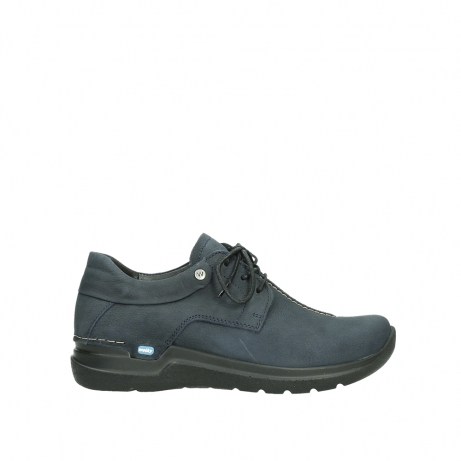 wolky lace up shoes 06603 wasco 11800 blue nubuck