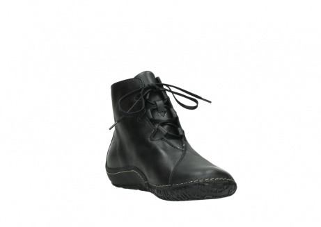 wolky lace up shoes 08330 innocence 50000 black leather_17