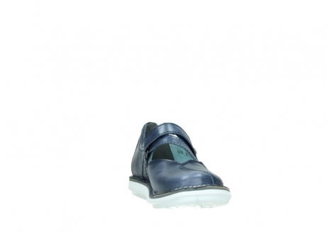 wolky mary janes 08478 limestone 30870 blue leather_18