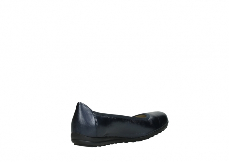 wolky ballet shoes 00125 lausanne 81800 blue metallic leather_10