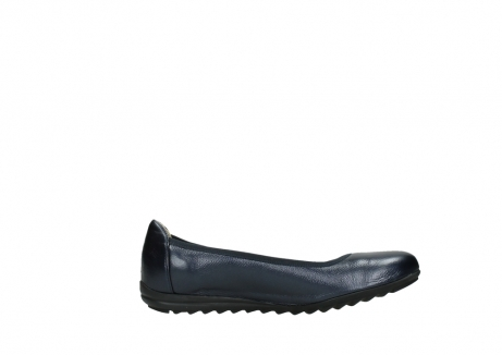 wolky ballet shoes 00125 lausanne 81800 blue metallic leather_13