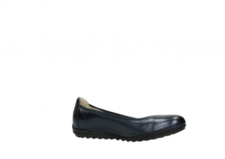 wolky ballet shoes 00125 lausanne 81800 blue metallic leather_15