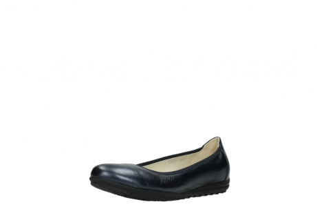 wolky ballet shoes 00125 lausanne 81800 blue metallic leather_22