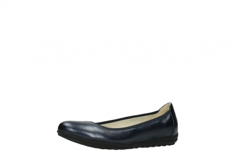 wolky ballet shoes 00125 lausanne 81800 blue metallic leather_23