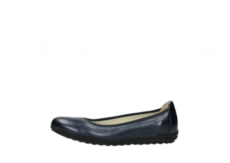 wolky ballet shoes 00125 lausanne 81800 blue metallic leather_24