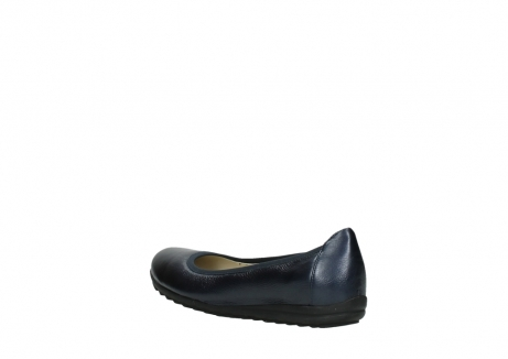 wolky ballet shoes 00125 lausanne 81800 blue metallic leather_4
