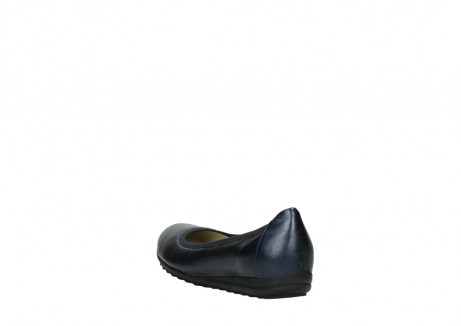 wolky ballet shoes 00125 lausanne 81800 blue metallic leather_5