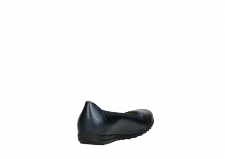 wolky ballet shoes 00125 lausanne 81800 blue metallic leather_9