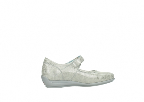 wolky mary janes 00385 noble 20120 off white silver printed leather_12