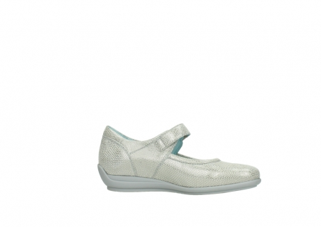 wolky mary janes 00385 noble 20120 off white silver printed leather_14