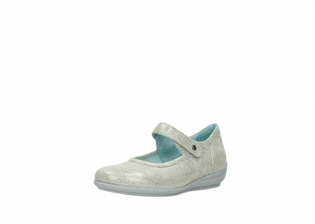 wolky mary janes 00385 noble 20120 off white silver printed leather_22