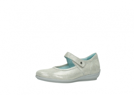 wolky mary janes 00385 noble 20120 off white silver printed leather_23