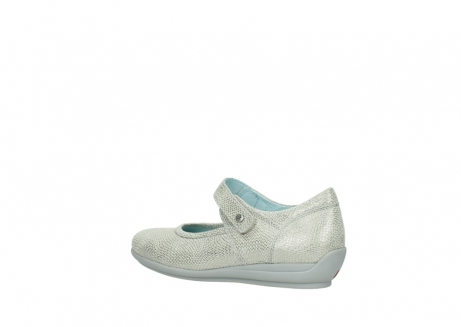 wolky mary janes 00385 noble 20120 off white silver printed leather_3