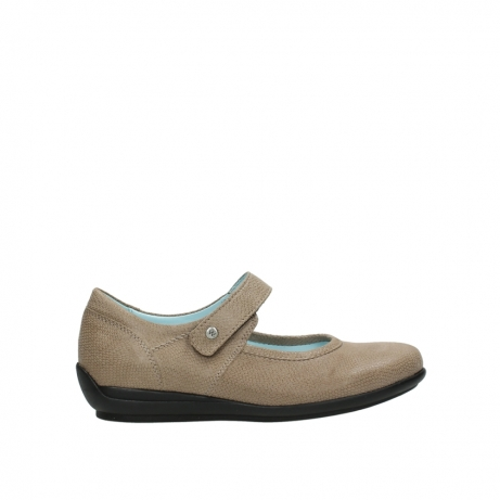 wolky riemchenschuhe 00385 noble 20150 taupe leder